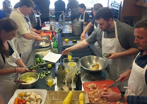 Quarterly Event: cooking class